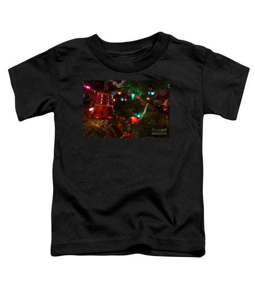 Red Christmas Bell Toddler T-Shirt
