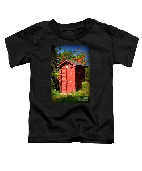 Red Outhouse Toddler T-Shirt