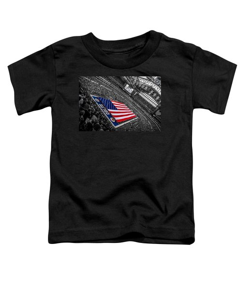 Red White And Blue Toddler T-Shirt