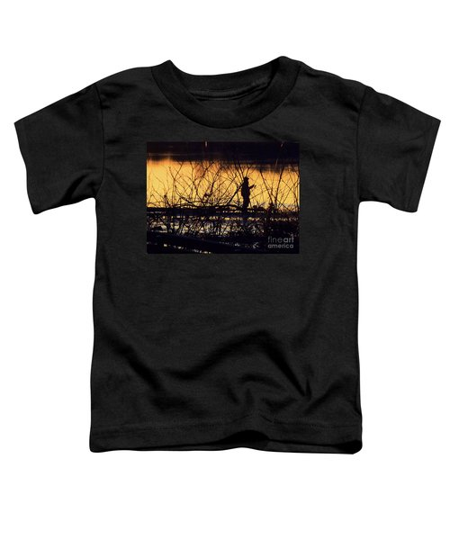Reeling In A New Day Toddler T-Shirt