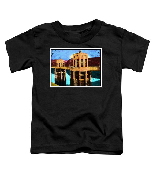 Reflections At Hoover Dam Toddler T-Shirt
