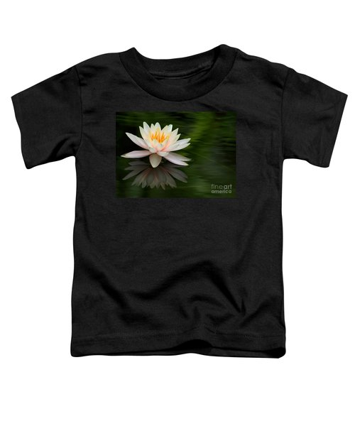 Reflections Of A Water Lily Toddler T-Shirt