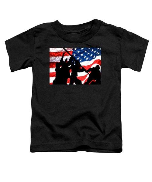 Remembering World War II Toddler T-Shirt by Bob Orsillo