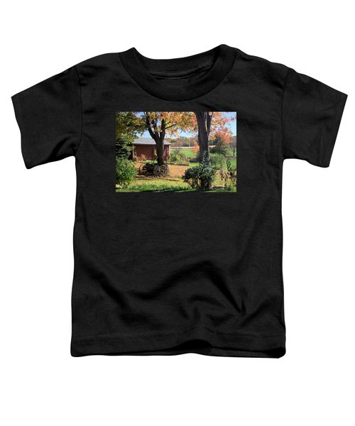 Retired Wagon Toddler T-Shirt
