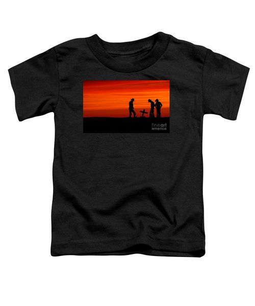 Cowboy Reverence Toddler T-Shirt