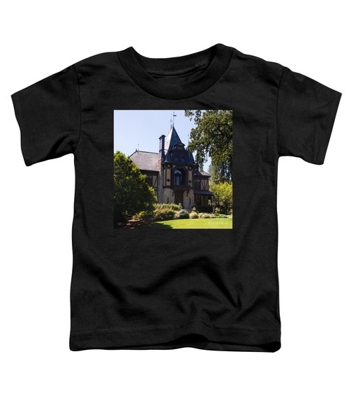 Rhine House At Beringer Winery St Helena Napa California Dsc1719 Square Toddler T-Shirt