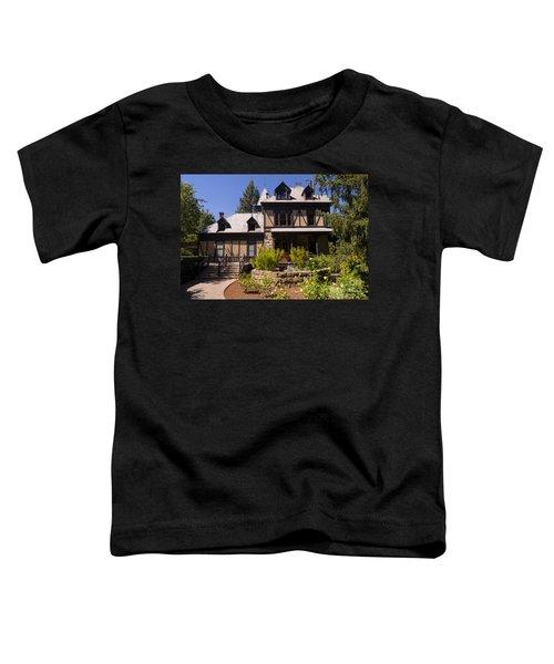 Rhine House At Beringer Winery St Helena Napa California Dsc1724 Toddler T-Shirt