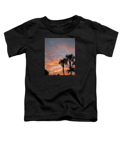 Rise And Shine. Florida. Morning Sky View Toddler T-Shirt