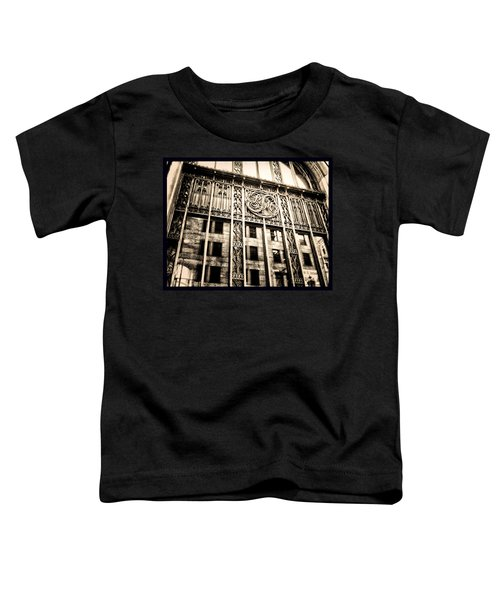 Toddler T-Shirt featuring the photograph Rm Montreal by Shawn Dall