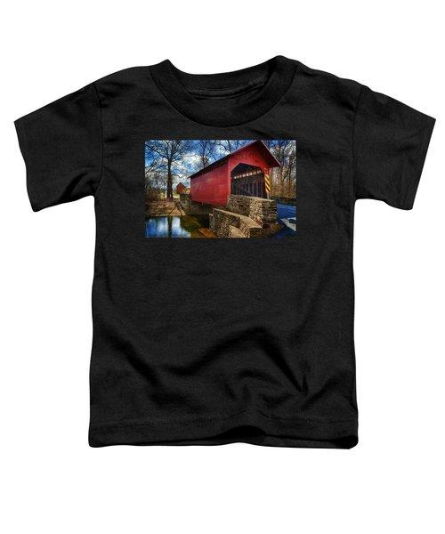 Roddy Road Covered Bridge Toddler T-Shirt