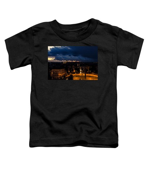 Rome Cityscape At Night  Toddler T-Shirt