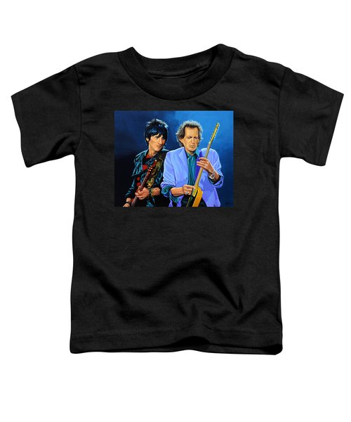 Ron Wood And Keith Richards Toddler T-Shirt