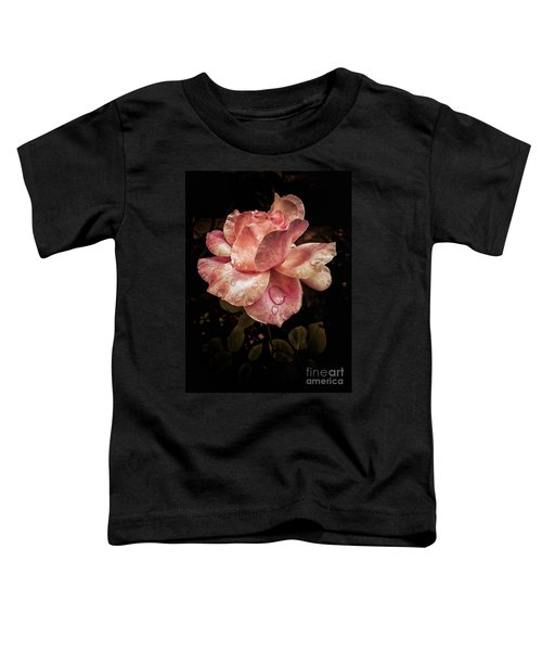 Rose Petals With Raindrops Toddler T-Shirt