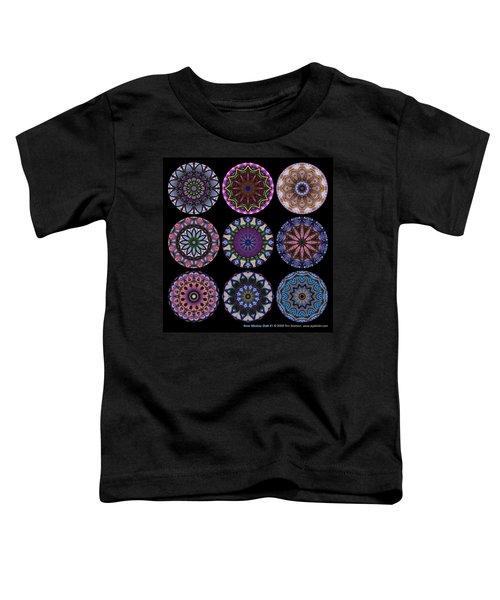 Rose Window Quilt 1 Toddler T-Shirt