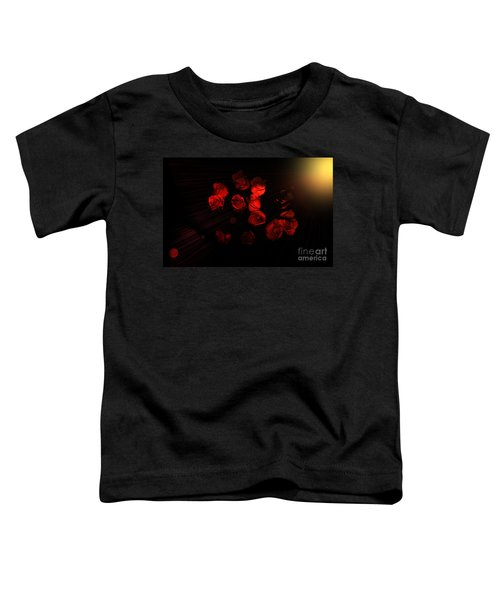 Roses And Black Toddler T-Shirt