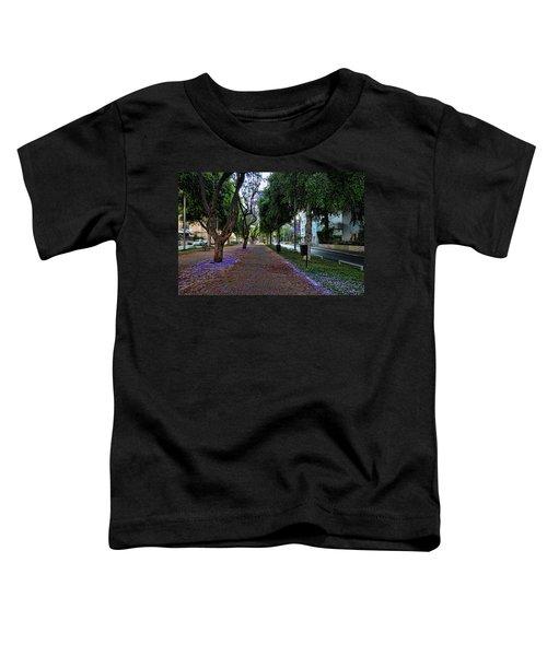 Rothschild Boulevard Toddler T-Shirt