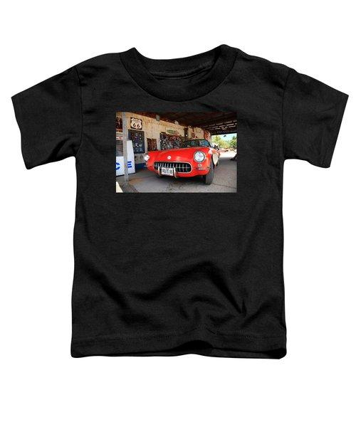 Route 66 Corvette Toddler T-Shirt