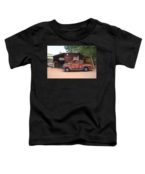 Route 66 Garage And Pickup Toddler T-Shirt