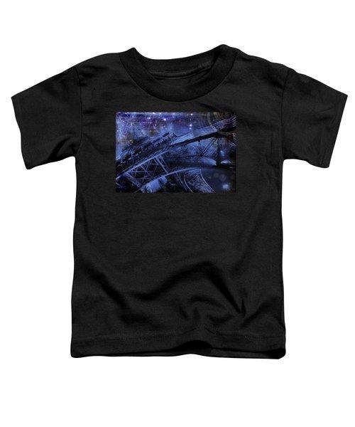 Royal Eiffel Tower Toddler T-Shirt