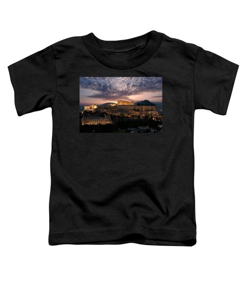 Ruins Of A Temple, Athens, Attica Toddler T-Shirt