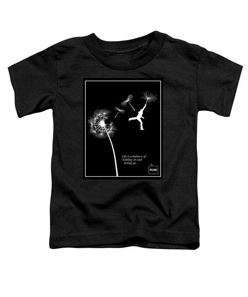Rumi Inspirational Quote Toddler T-Shirt