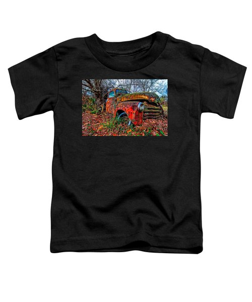 Rusty 1950 Chevrolet Toddler T-Shirt