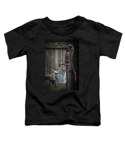 Rusty Hand Water Pump Toddler T-Shirt