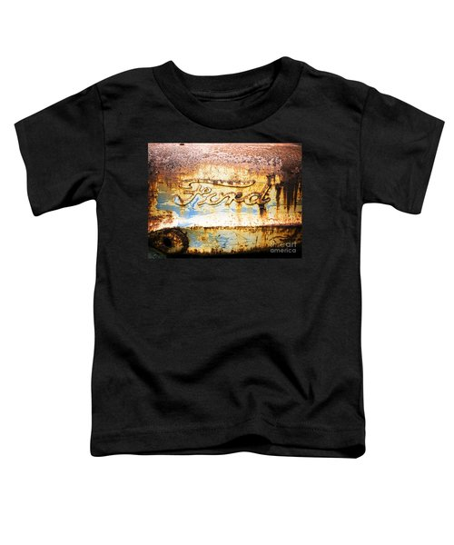 Rusty Old Ford Closeup Toddler T-Shirt