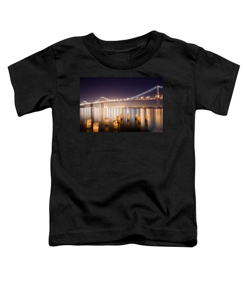 San Francisco Bay Bridge Toddler T-Shirt