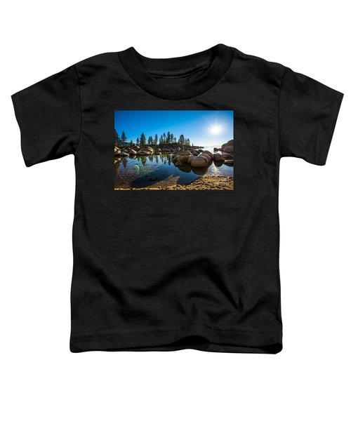 Sand Harbor Star Toddler T-Shirt