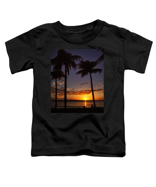 Sanibel Island Sunset Toddler T-Shirt