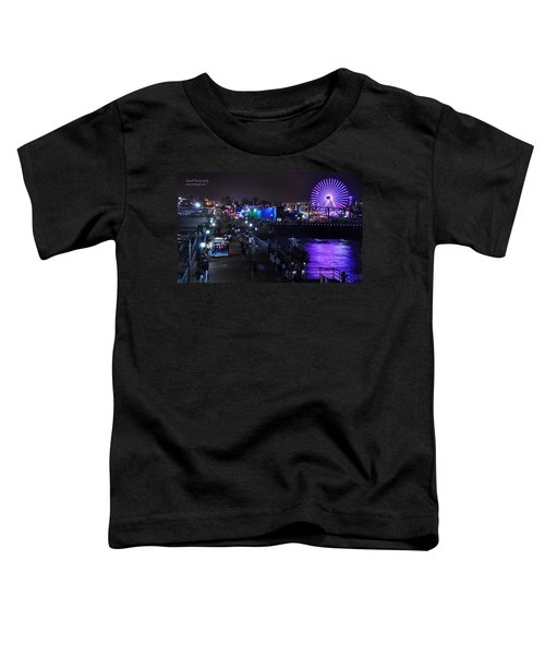 Santa Monica Pier 5 Toddler T-Shirt