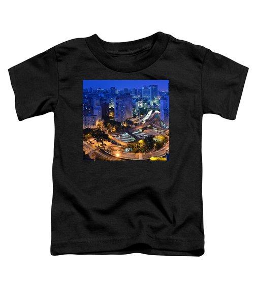 Sao Paulo Skyline - Downtown Toddler T-Shirt