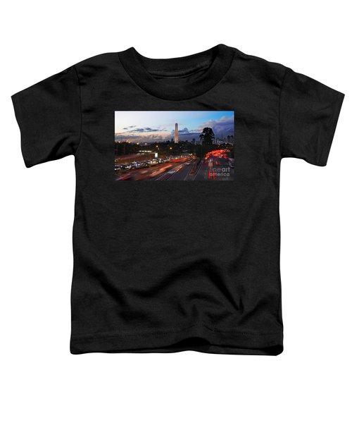 Sao Paulo Skyline - Ibirapuera Toddler T-Shirt