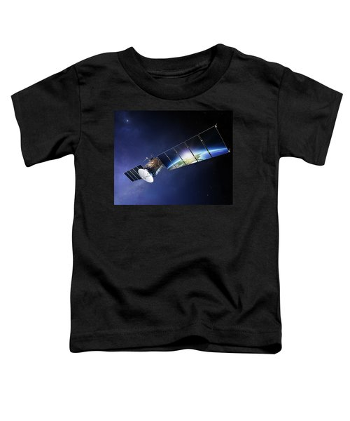 Satellite Communications With Earth Toddler T-Shirt