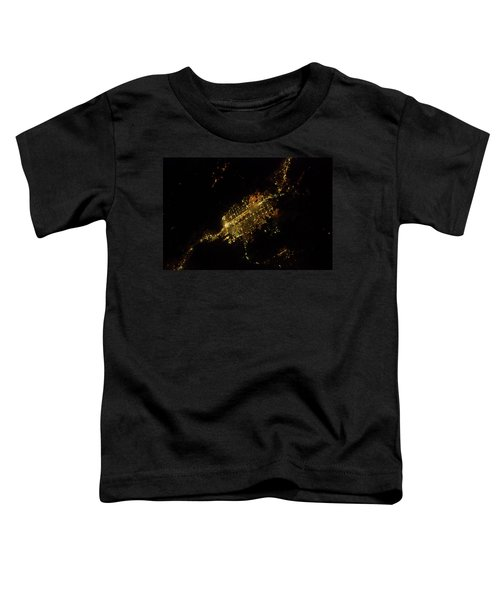Satellite View Of Las Vegas, Nevada, Usa Toddler T-Shirt