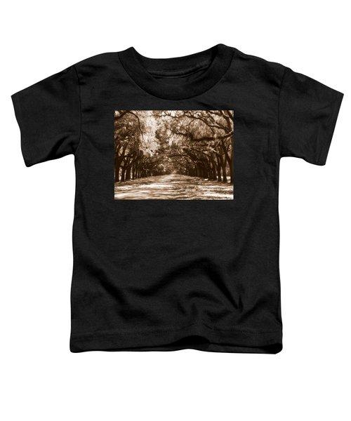 Savannah Sepia - The Old South Toddler T-Shirt