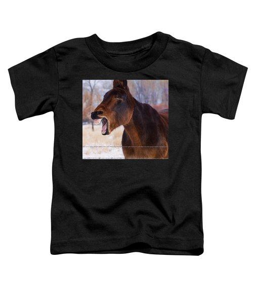 Say Ahhhh Toddler T-Shirt