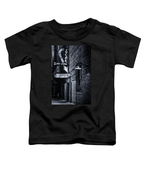 Scat Lounge In Cool Black And White Toddler T-Shirt
