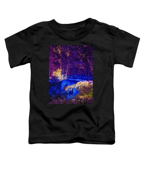 Stone Bridge - Crop Toddler T-Shirt