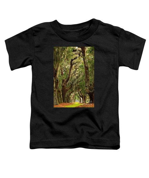 Sea Island Oaks Portrait Toddler T-Shirt
