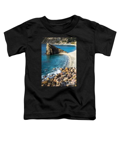 Sea Stack Of Monterosso Toddler T-Shirt
