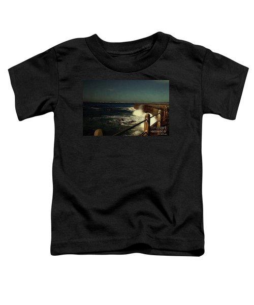 Sea Wall At Night Toddler T-Shirt