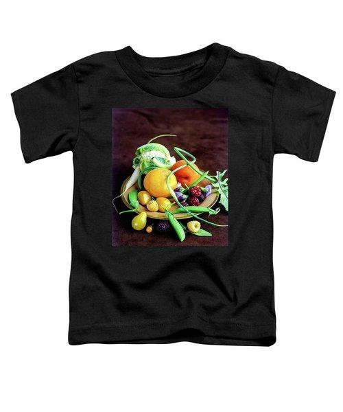 Seasonal Fruit And Vegetables Toddler T-Shirt