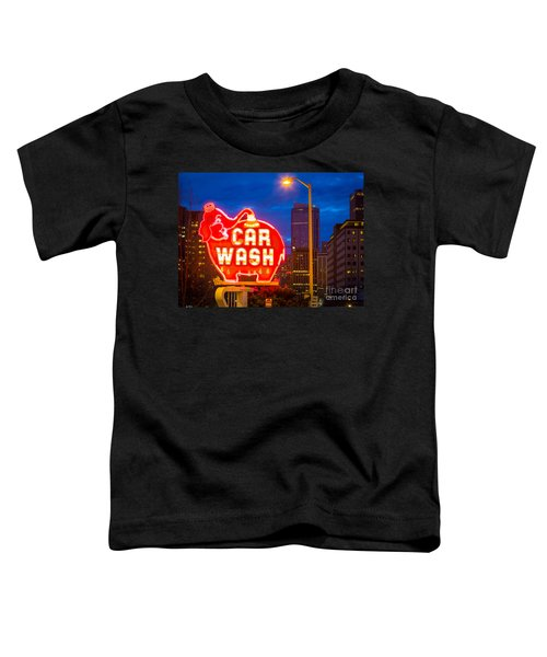Seattle Car Wash Toddler T-Shirt