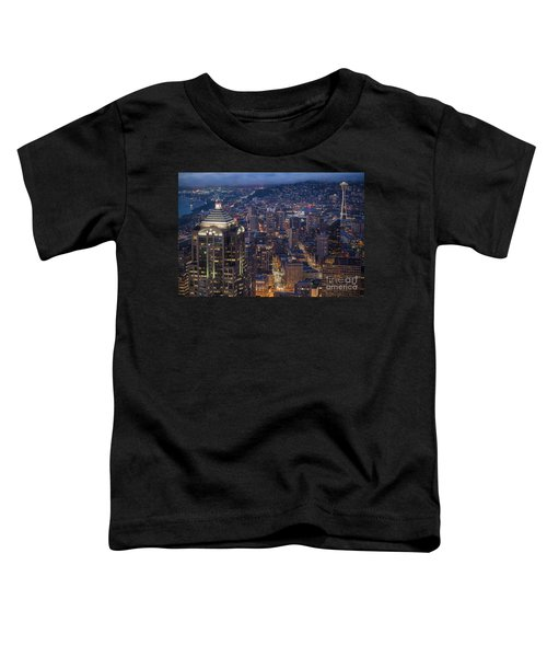 Seattle Urban Details Toddler T-Shirt by Mike Reid
