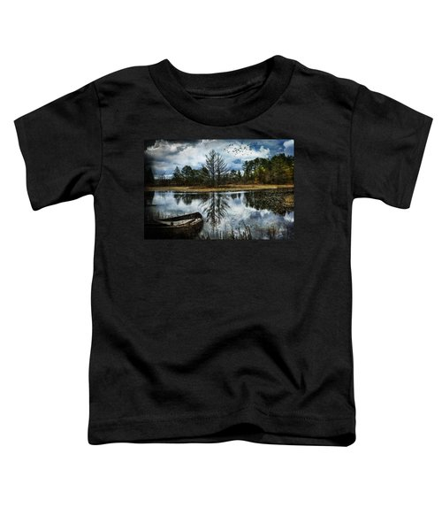 Seney And The Rowboat Toddler T-Shirt
