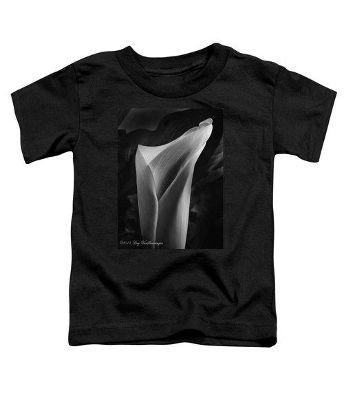 Sensuous Calla Toddler T-Shirt