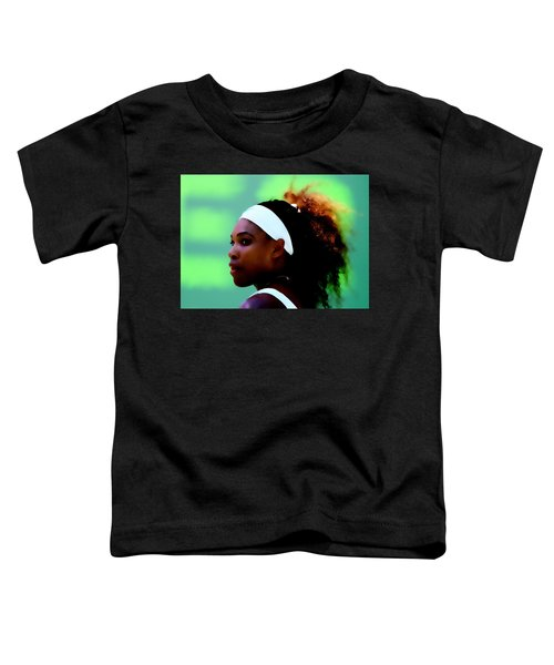 Serena Williams Match Point Toddler T-Shirt