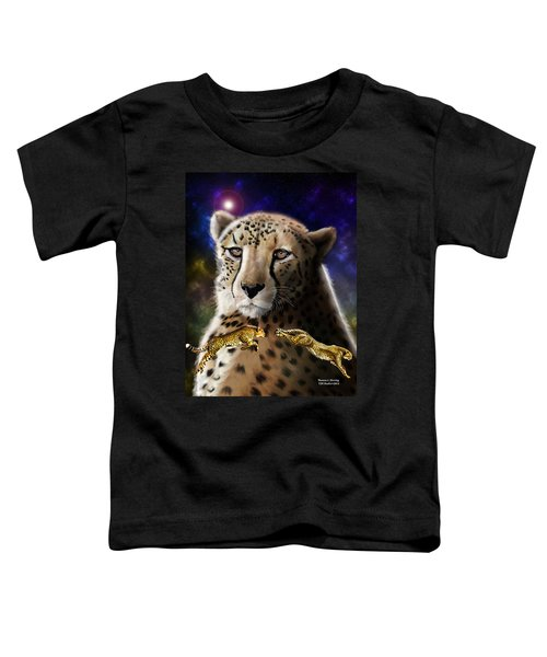 First In The Big Cat Series - Cheetah Toddler T-Shirt